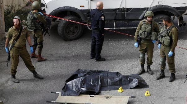 Aggressione a Hebron,carabiniere contuso