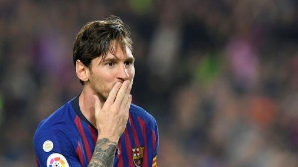 FC Barcelone: Messi absent, un coup à jouer pour ses poursuivants