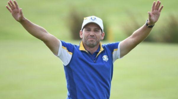 Golf: Sergio Garcia conserve son titre au  Valderrama Masters