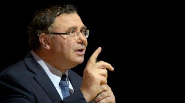 Le PDG de Total Patrick Pouyanné, le 11 octobre 2018 à Paris