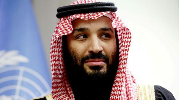 تلفزيون الإخبارية: ولي العهد السعودي يجتمع مع وزير الخزانة الأمريكي