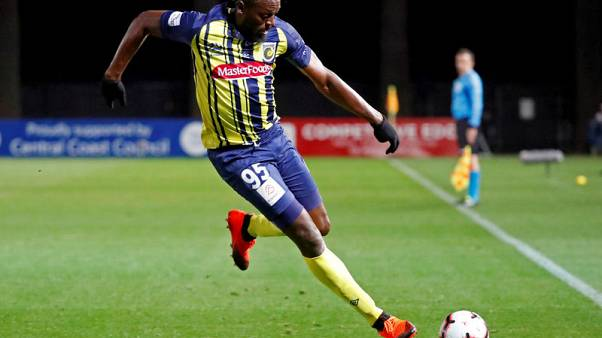 Soccer - A-League club confirm offer to Olympic champion Bolt