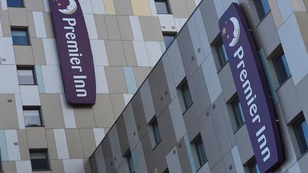 Whitbread's interim revenue rises 2.6 percent