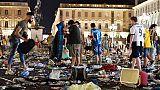 Piazza San Carlo,via udienza preliminare