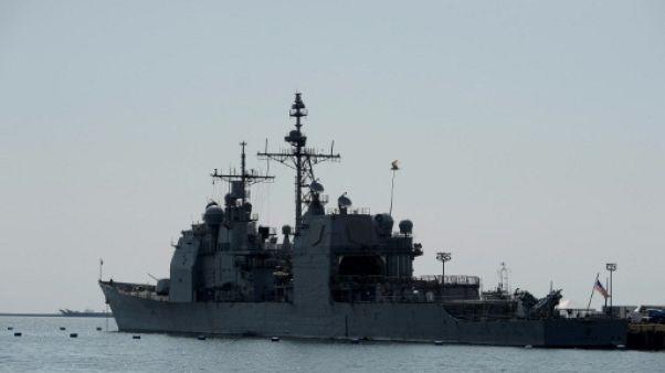 """Destroyers américains dans le détroit de Taïwan: Pékin """"préoccupé"""""""