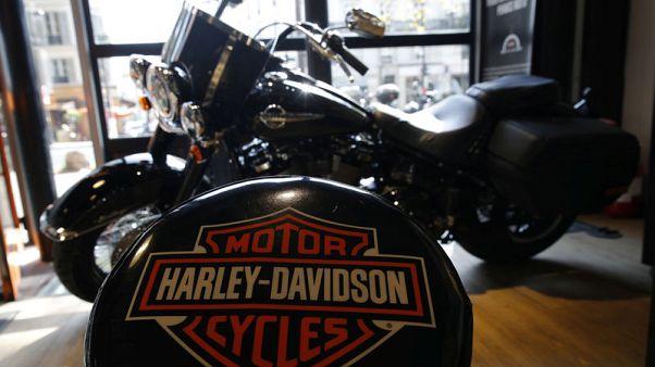 Harley-Davidson profit, sales beat estimates on higher Europe sales