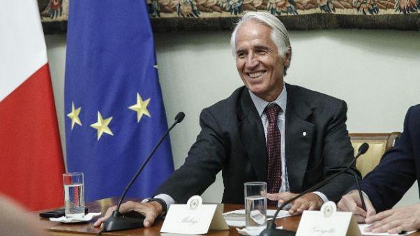 Malagò: Autoriforma giustizia?Noi pronti