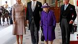 Dutch king and queen begin state visit to Britain