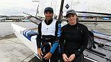 Voile: Marie Riou et Billy Besson à la tête des Bleus pour un circuit F1 des mers
