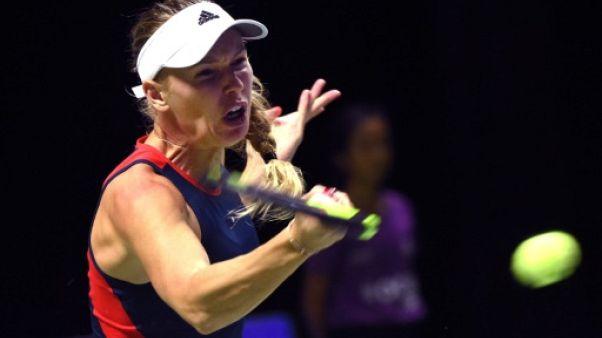 Masters de Singapour: Wozniacki se relance face à Kvitova