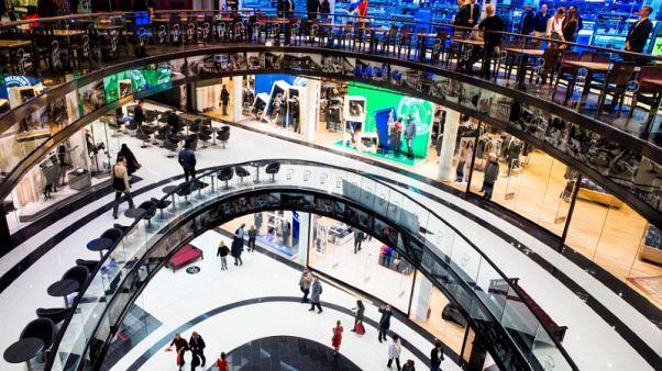 Euro zone consumer sentiment rises slightly in October