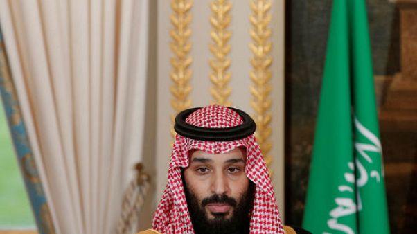 ولي العهد السعودي يقول إنه راض عن مؤتمر الاستثمار في الرياض