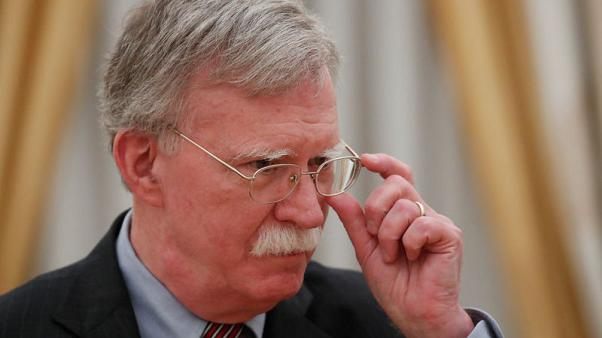 Bolton says he raised election meddling with Russia's Putin