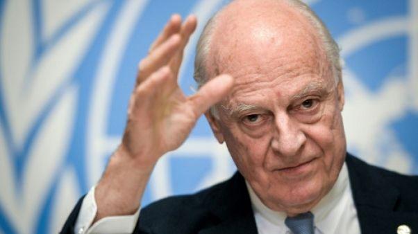 L'émissaire de l'ONU pour la Syrie attendu mercredi à Damas