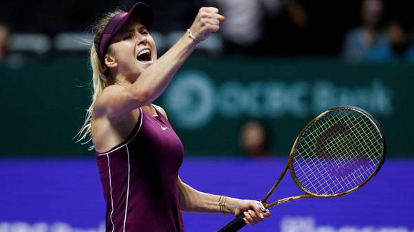 Tennis - What a difference a year makes for high-flying Svitolina