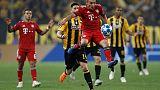 Quick double strike gives Bayern 2-0 win at AEK