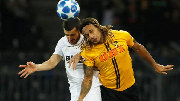 First Champions League point, goal for Young Boys in Valencia draw