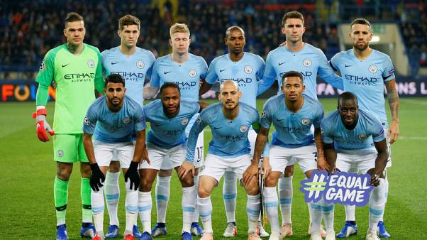 Man City flex muscles with rampant win at Shakhtar
