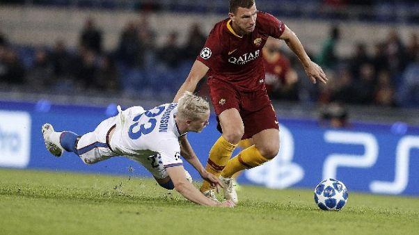 Champions: Roma-Cska Mosca 3-0