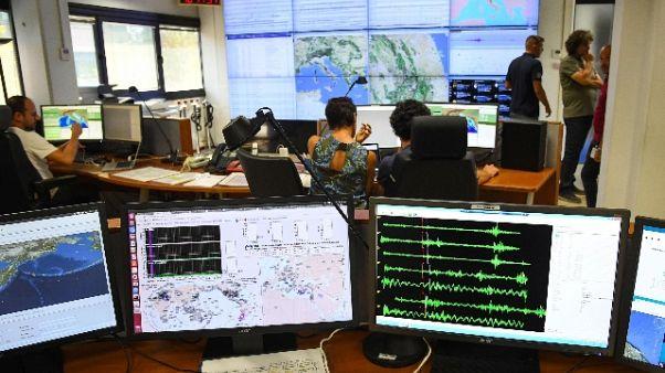 Scossa terremoto magnitudo 3.1 su Etna