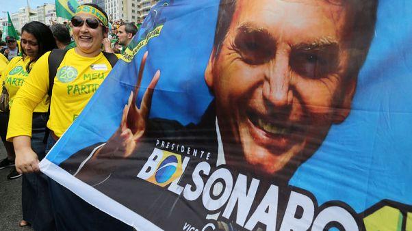 Brazil election poll shows Bolsonaro with 57 percent vs Haddad's 43 percent