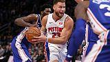 NBA: Griffin au sommet avec 50 points préserve l'invincibilité de Detroit