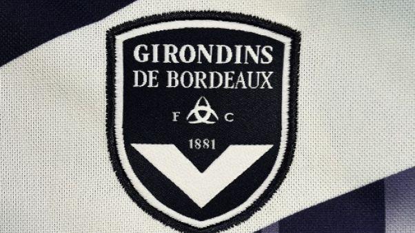 Logo des Girondins de Bordeaux sur un maillot, le 6 août 2015