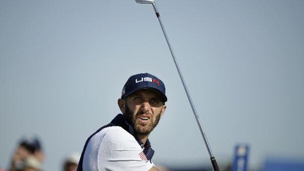 Golf: Johnson, voglio tornare il n.1