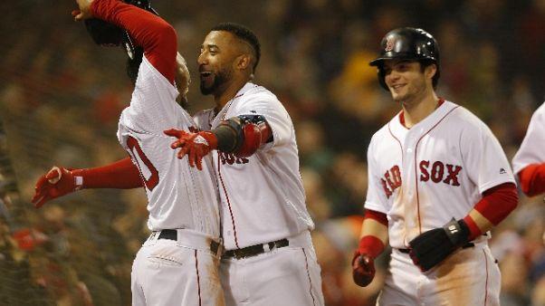 Baseball: ai Boston Red Sox gara-uno