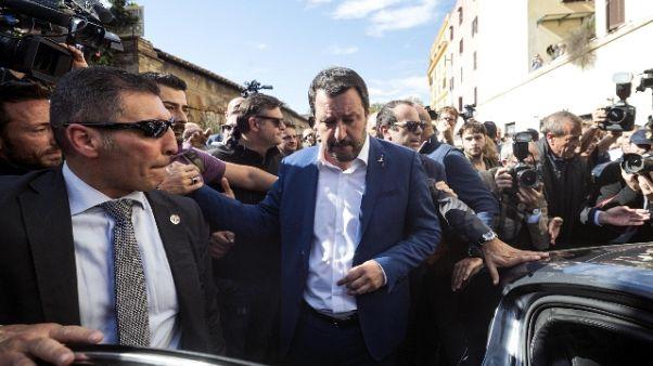 Desirée, Salvini a San Lorenzo