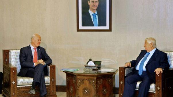L'envoyé de l'ONU à Damas pour accélérer la formation du comité constitutionnel