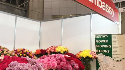 Embassy participates in the 16th International Flower and Plants Expo Tokyo 2018