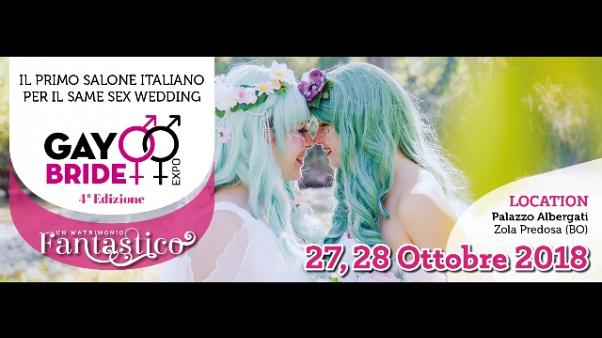 Matrimoni Lgbt, torna 'Gay Bride Expo'