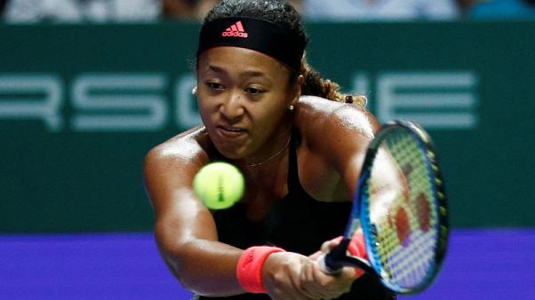 Tennis - Osaka pins Singapore losses on serving woes