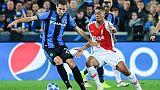 Champions: Club Brugge-Monaco 1-1