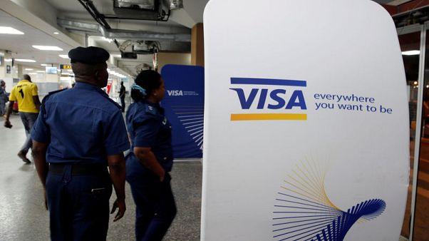 U.S. tech funds turn to Visa, Paypal as FANGs fade