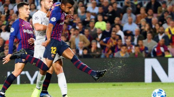 Champions: Barcellona-Inter 2-0