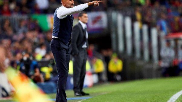 Inter: Spalletti, mi aspettavo conferme