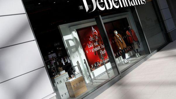 Debenhams to close 50 stores as posts record 500 million pounds loss