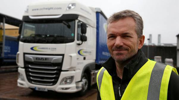 With Brexit talks in gridlock, British truckers plan for the worst