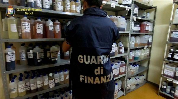 Gdf blocca contrabbando nicotina liquida