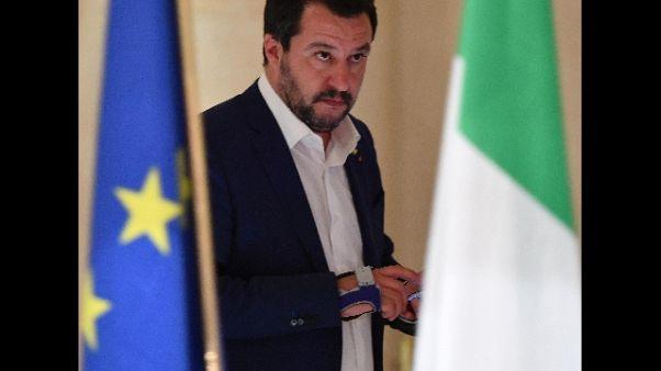 Salvini, io sempre d'accordo con Tria