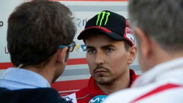 MotoGP d'Australie: forfait de Lorenzo, opéré du poignet