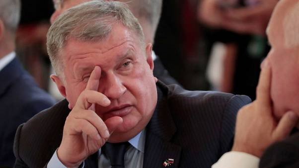 Rosneft's Sechin comfortable with oil price, says no one wants a spike