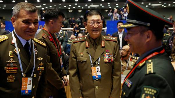North Korean general gets warm welcome in China as ties improve