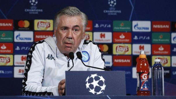 Champions, Equipe elogia Ancelotti