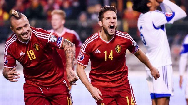 Calcio, Belgio in testa a ranking Fifa