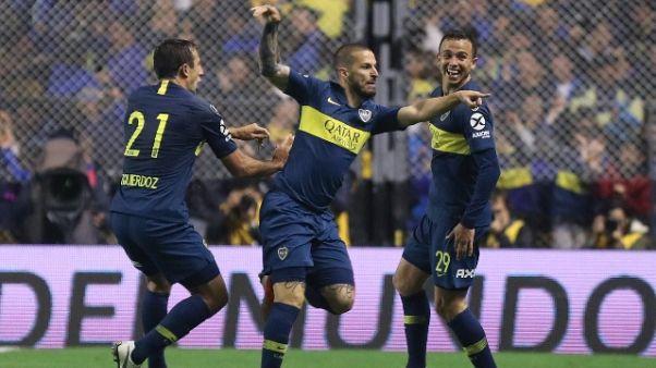 Libertadores, Boca Jrs.-Palmeiras 2-0