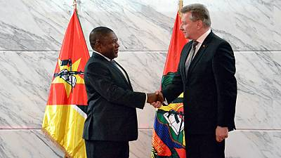 Ambassador of Belarus A.Sidoruk presented Credentials to the President of Mozambique
