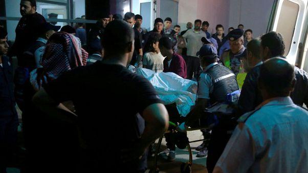 مقتل 18 أغلبهم أطفال في سيول بالأردن